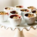 Pear and Berry Crumbles with Nigela Seeds