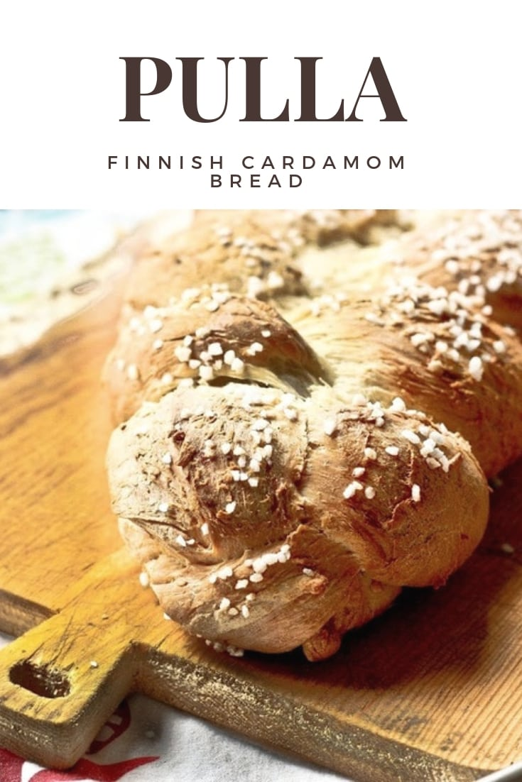 Pulla Traditional Finnish Cardamom Bread