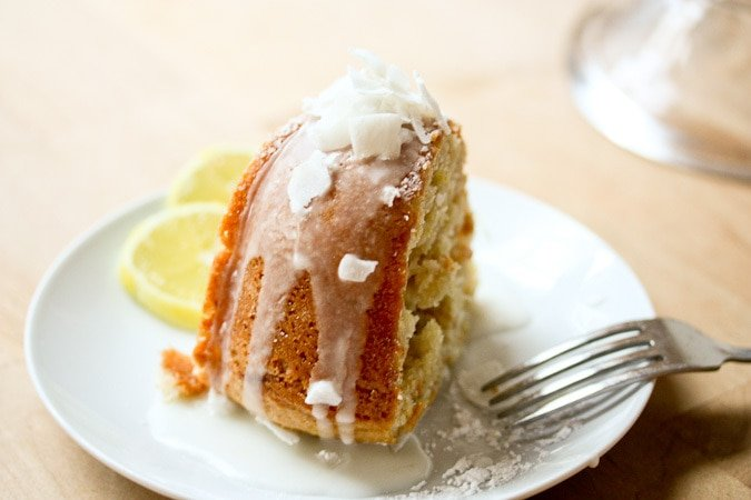 Vegan Meyer Lemon Coconut Bundt Cake Feasting At Home