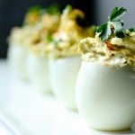 The best recipe for deviled eggs | www.feastingathome.com