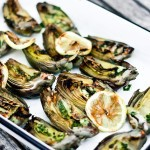 a recipe for Grilled Artichokes