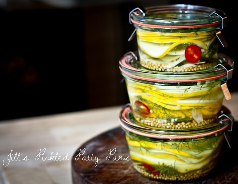Pickled Summer Squash | Feasting At Home