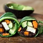 vegan collard green wraps