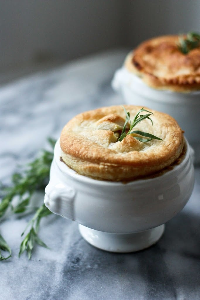 Spring Vegetable Pot Pie -(vegan) + 12 Delicious Spring Recipes to celebrate the season! | www.feastingathome.com