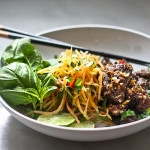 Vietnamese Beef Salad with Green Papaya Salad