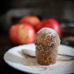 Apple Brown Butter Bouchons (aka Donut Muffins! ) are very easy to make and oh so delicious! Baked instead of fried, they are rolled in browned butter and sprinkled with cinnamon-sugar. #donutmuffins