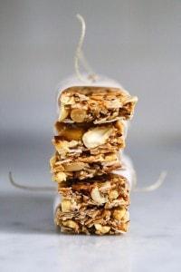 Vegan Coconut Almond Bars