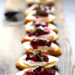 Beet Bruschetta with Goat Cheese and Basil -a simple delicious appetizer that is full of amazing flavor! #beets #beet #appetizer #bruschetta #beetrecipes #goatcheese #beetappetizer