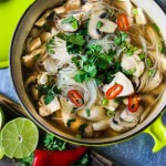 10 Feel Better Brothy Soups to heal and nurture the body | www.feastingathome.com