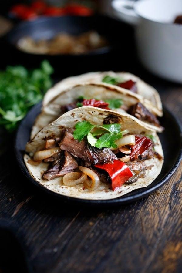 Mexican Short Rib Tacos | www.feastingathome.com