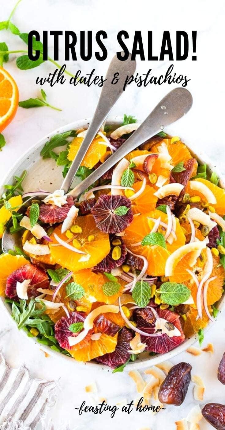 Citrus Salad with Dates & Pistachios