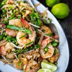 Spring Vegetable Pad Thai | www.feastingathome.com
