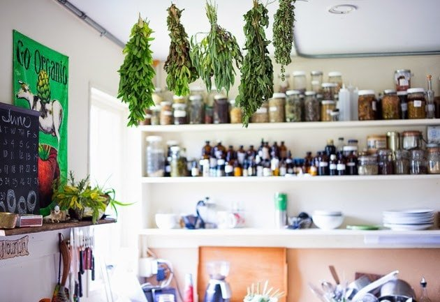 herbalist kitchen