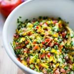 Israeli Salad | www.feastingathome.com