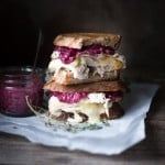 Turkey Brie Grilled Cheese Sandwich