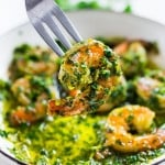 Chimichurri Shrimp | www.feastingathome.com