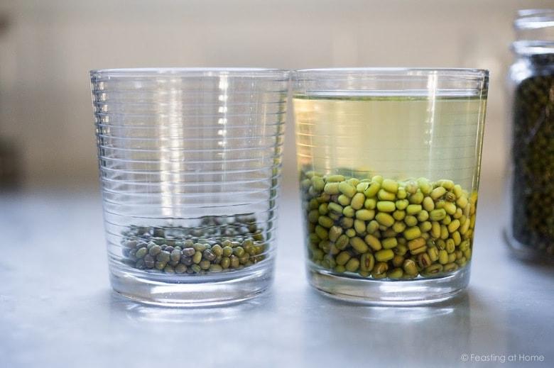 "A healing bowl of Khichuri, an Ayurvedic recipe considered to be India's ""comfort food"" made w/ healing ingredients, detoxing veggies & soothing turmeric. Vegan and GF   www.feastingathome.com #khichuri #khichdi #khichidi #ayurvedic #ayervedicrecipes #khichadi #vegan #mungbeans #buckwheat"