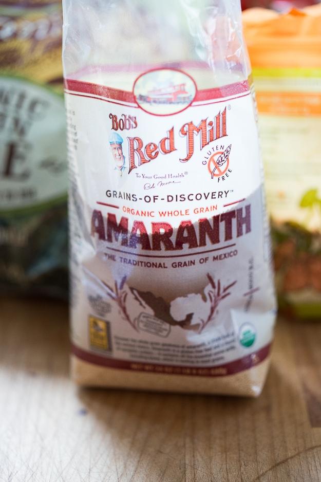Amaranth Cakes w/ lentils, kale and chipotle aioli - high protein meal, vegan & gluten free | www.feastingathome.com
