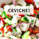 A simple recipe for Ceviche with easy to follow instructions, and simple ceviche ingredients!