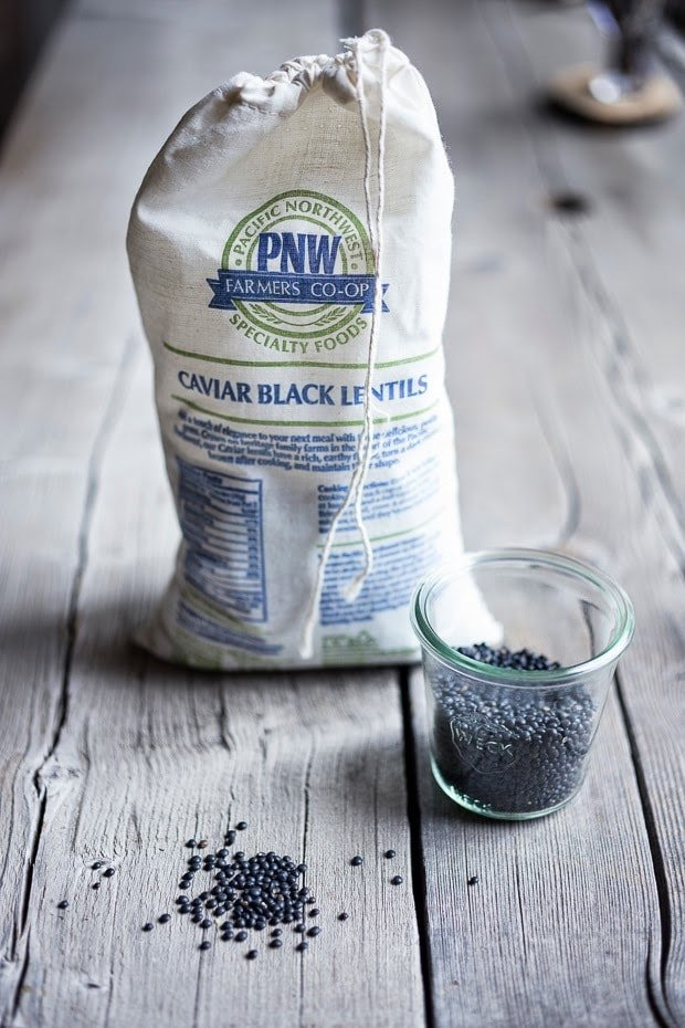 "Pacific Northwest Farmers Co-op's ""black caviar"" lentils"