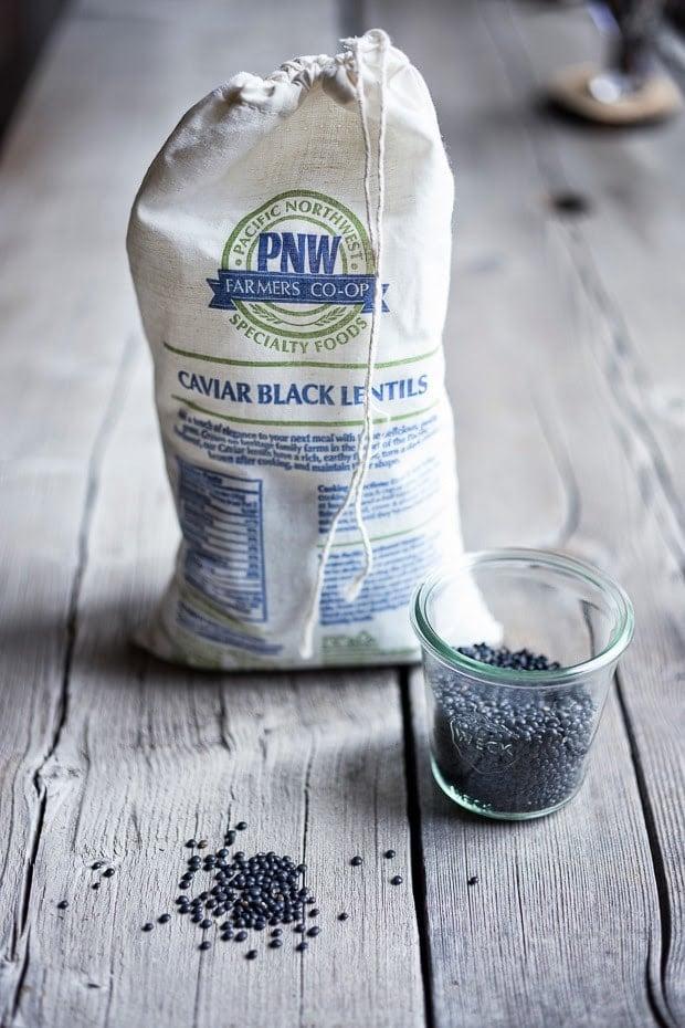 """Pacific Northwest Farmers Co-op's """"black caviar"""" lentils"""