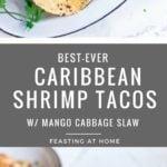 caribbean shrimp tacos