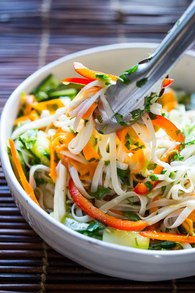 ... for Vietnamese Rice Noodle Salad with flavorful pickled vegetables