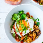 Korean-style Kimchi Fried Rice!