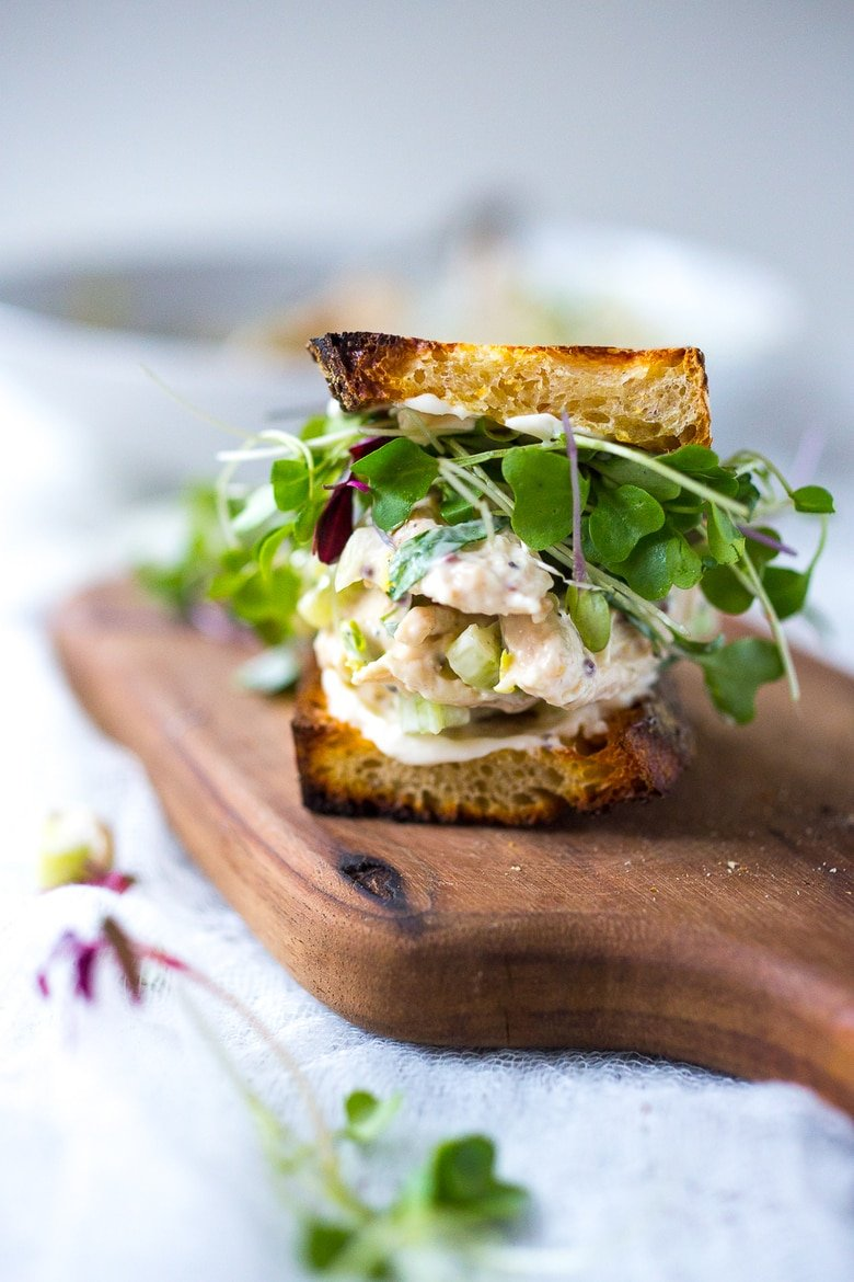 Chicken Salad Sandwich With Tarragon Feasting At Home