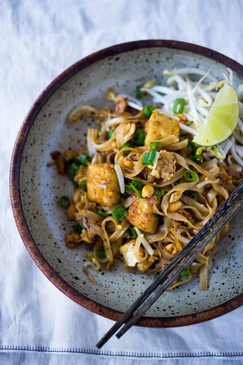 15 minute pad thai feasting at home for At home thai cuisine