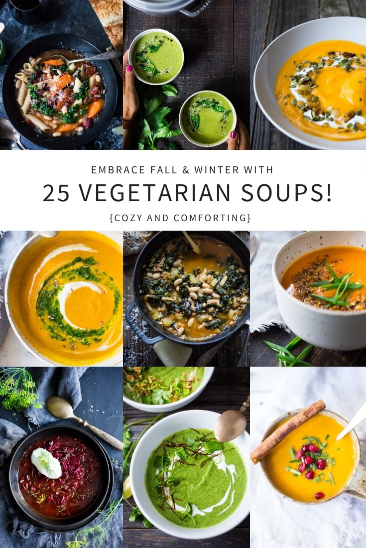 25 Delicious Vegetarian Vegan Soup Recipes Feasting At Home