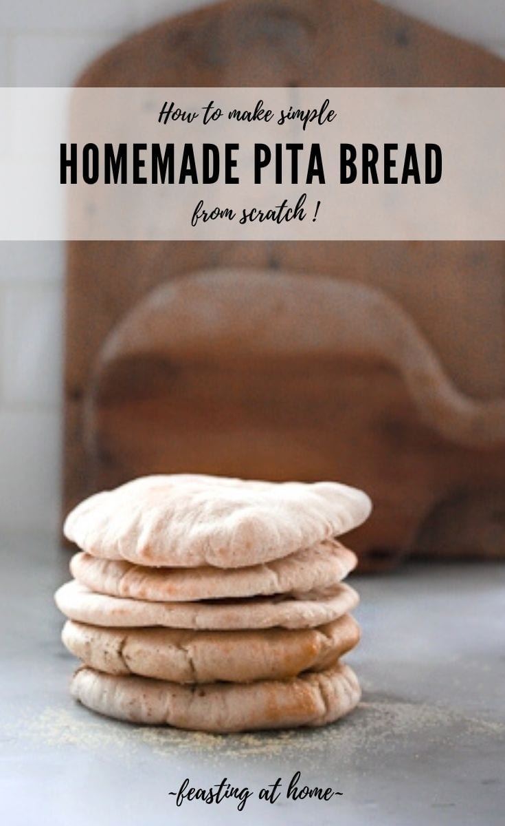 Simple Homemade Pita Bread!
