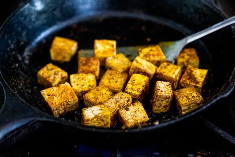 make crispy tofu