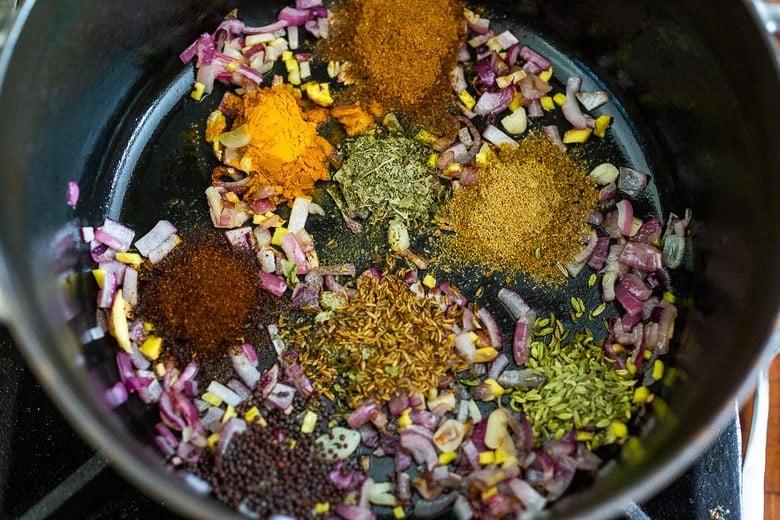 spices in tikka masala