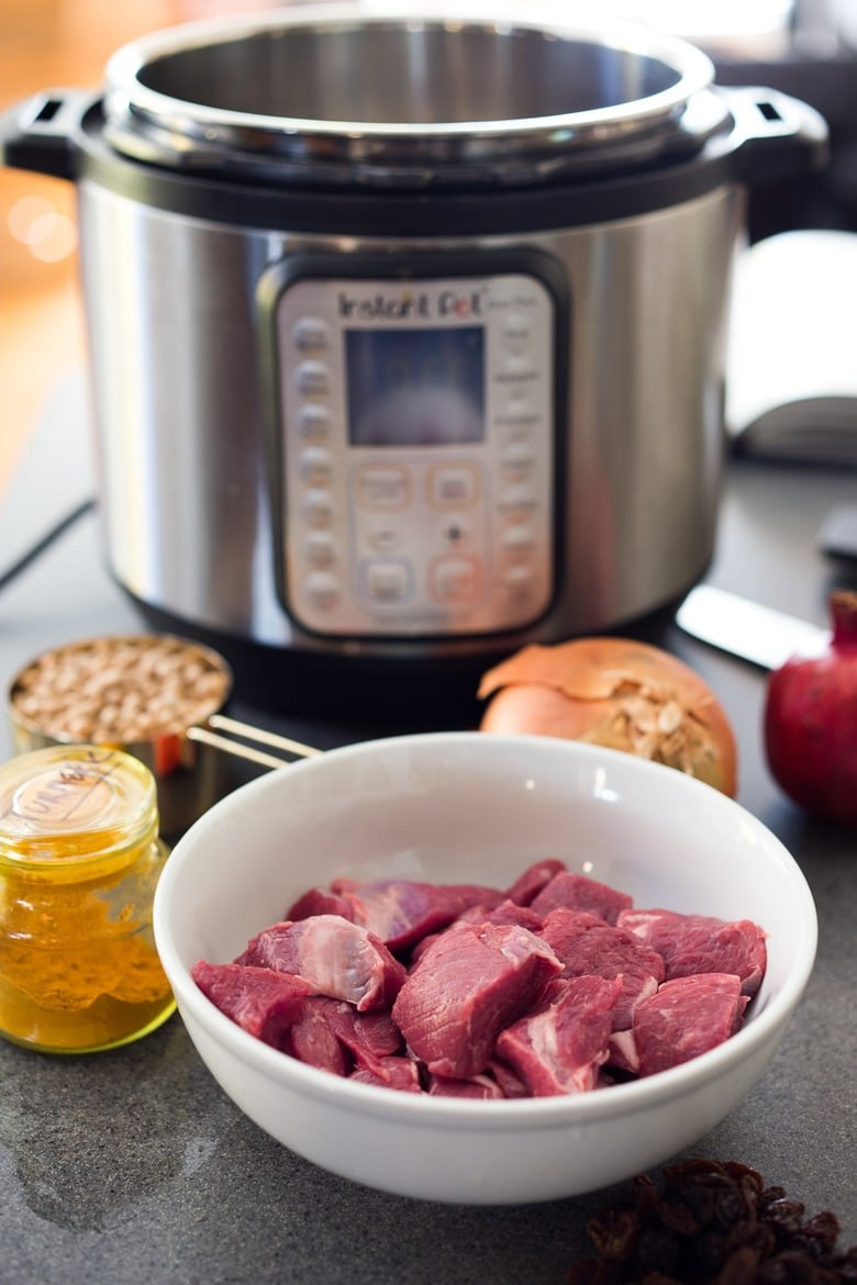 Instant Pot Middle Eastern Lamb Stew Feasting At Home