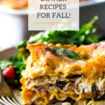 20 Vegetarian Dinner Recipes for Fall! Cozy, easy and delicious! #fallrecipes #vegetarianrecipes #healthydinners