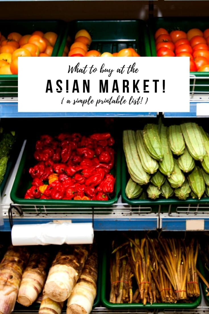 "What to Buy at an ASIAN MARKET! A list of my favorite ""go-to"" ingredients! #asianmarket"