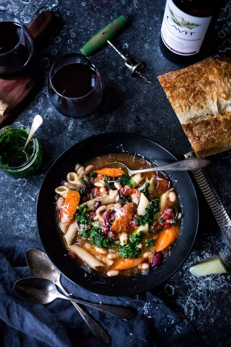 the Best Instant Pot Minestrone Soup