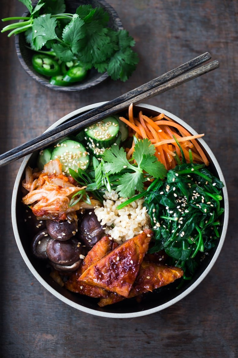 Seoul Bowl Vegan Bibimbap Feasting At Home
