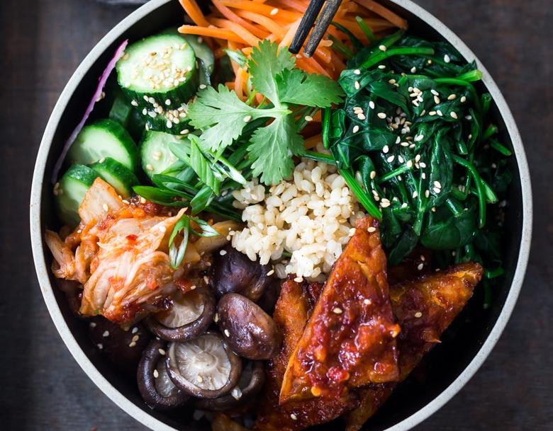Seoul Bowl Vegan Bibimbap Feasting At Home