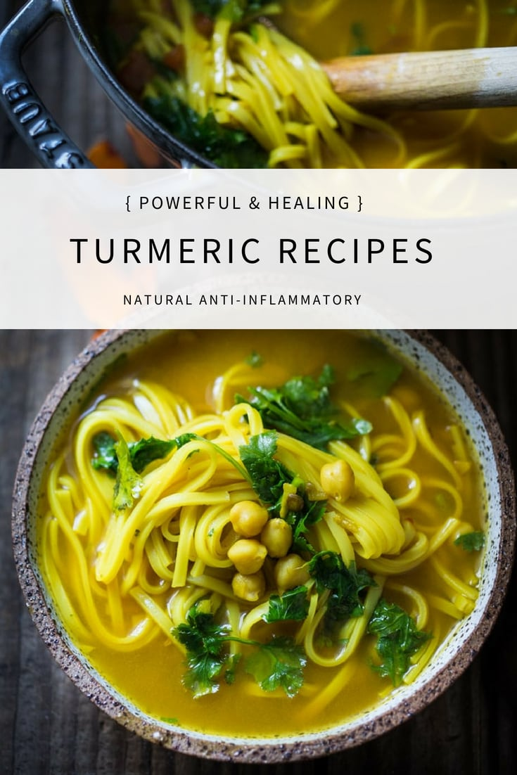 Turmeric Recipes for immflamuation