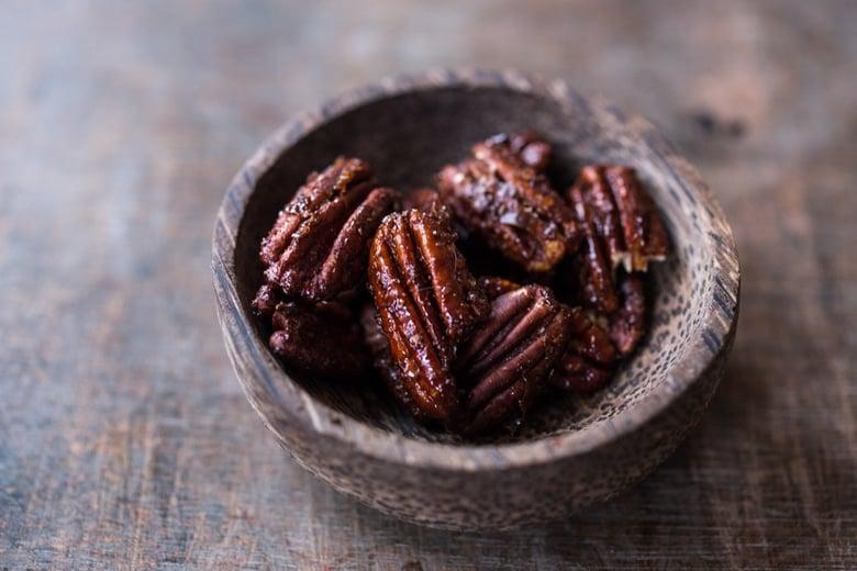 Chipotle Maple Pecans