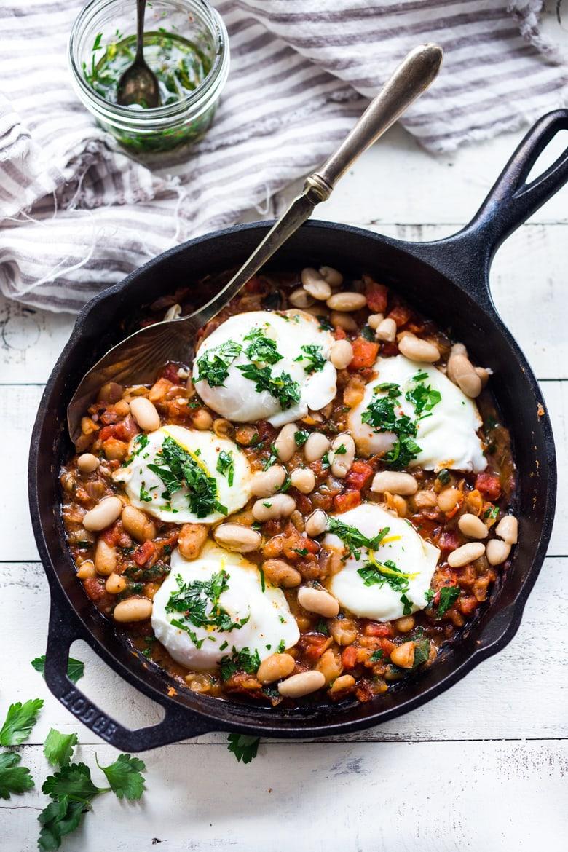 Italian Eggs and Beans