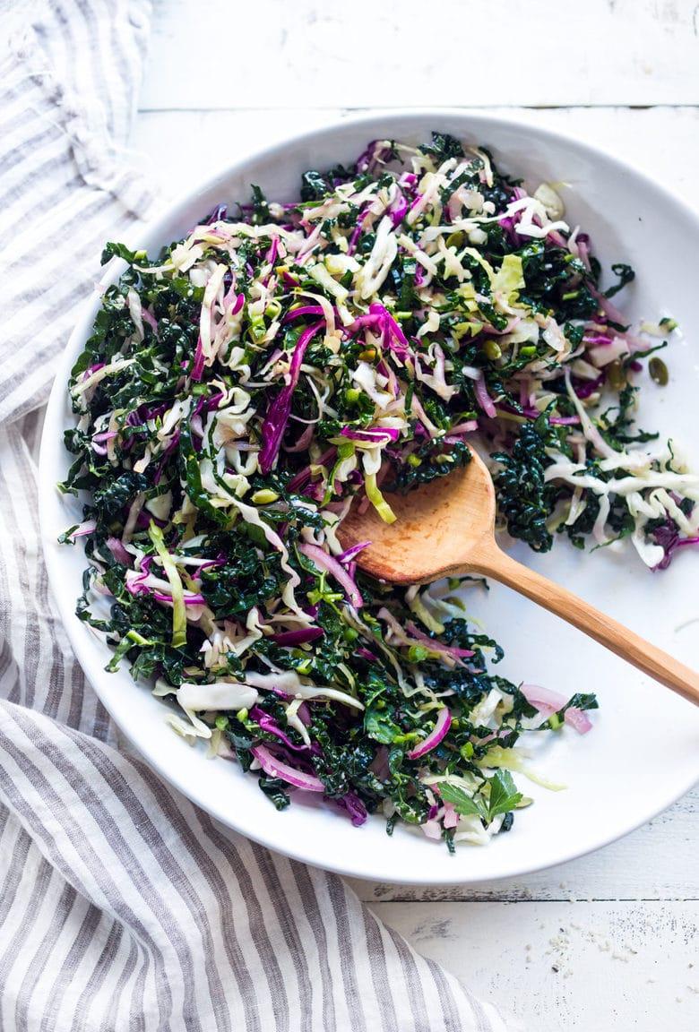 everyday kale slaw