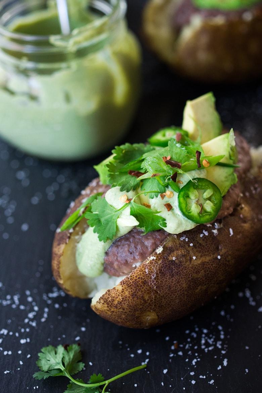 Mexican Baked Potato Vegan