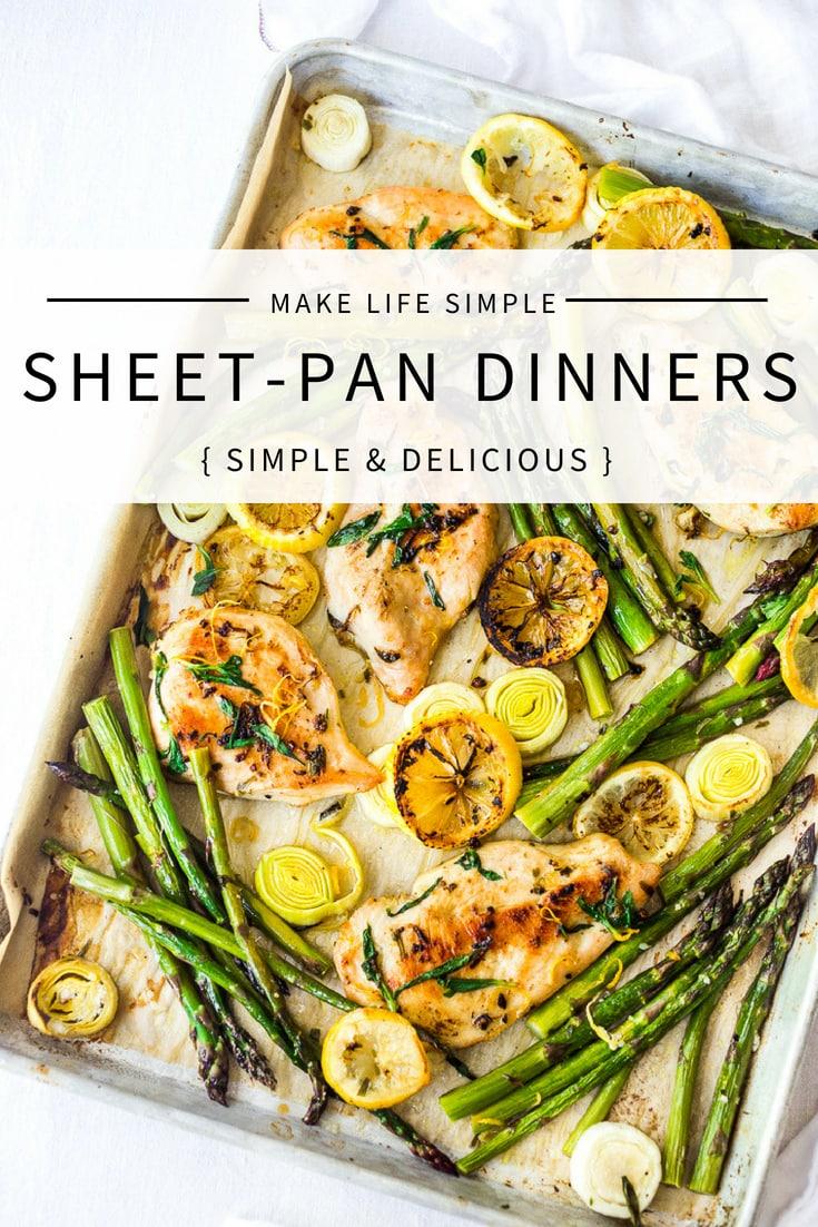 25 Simple Sheet-Pan Dinners
