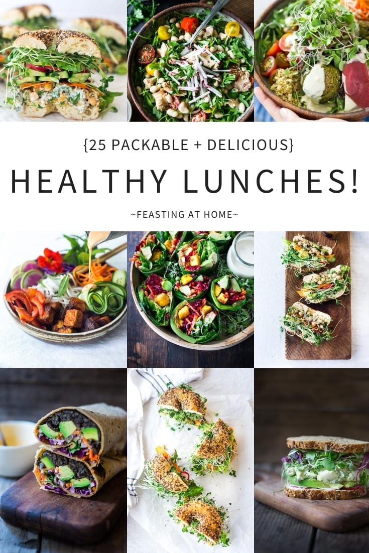 25 Healthy Delicious Lunches Feasting At Home