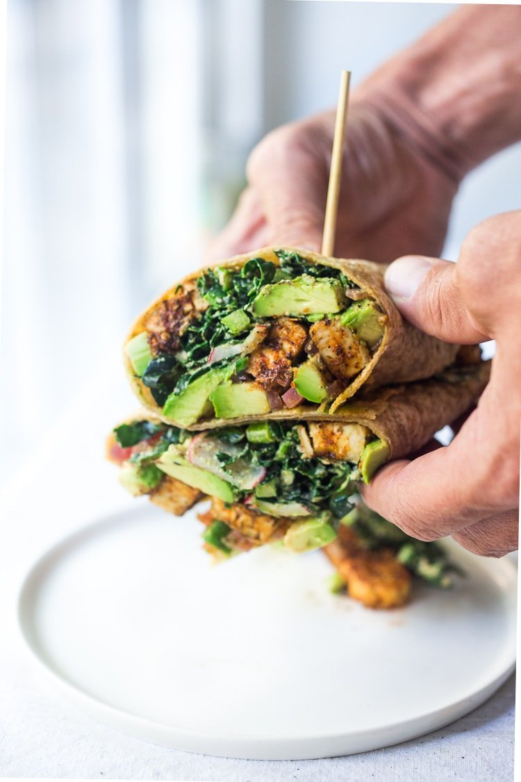 Tempeh Recipe - wraps