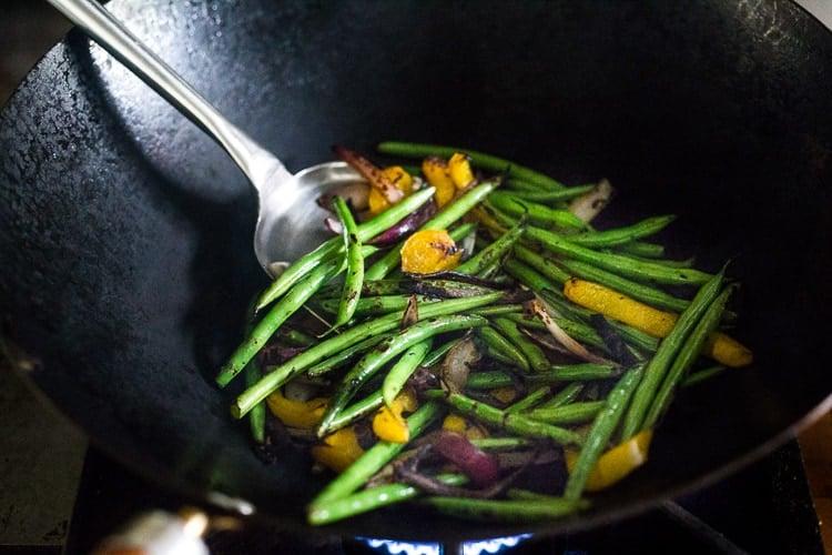 wok veggies