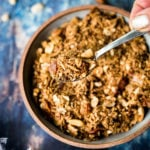 Peanut Chili Crunch- a flavorful Southeast Asian topping that adds texture, flavor and heat to dishes you already make! #peanut #chili #spice #thai #bali